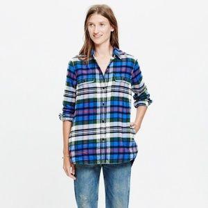NWOT Madewell | Ex-Boyfriend Flannel Shirt